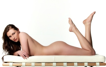 Model: Elle Lenz - Celebrity Hair & Makeup Artist Mikel Cain