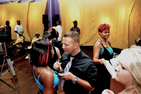 Backstage with Celebrity Hair & Makeup Artist Mikel Cain - www.mikelcain.com