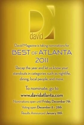 David Atlanta Magazine - Best of 2011 - Celebrity Hair & Makeup Artist Mikel Cain - www.mikelcain.com