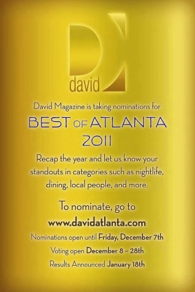 David Atlanta Magazine - Best of 2011 - Celebrity Hair & Makeup Artist Mikel Cain - www.mikelcain.com